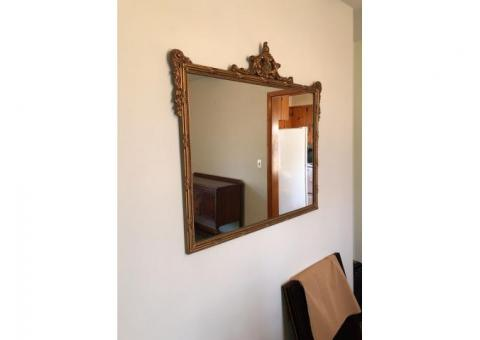 Vintage/Antique Gold Mirror